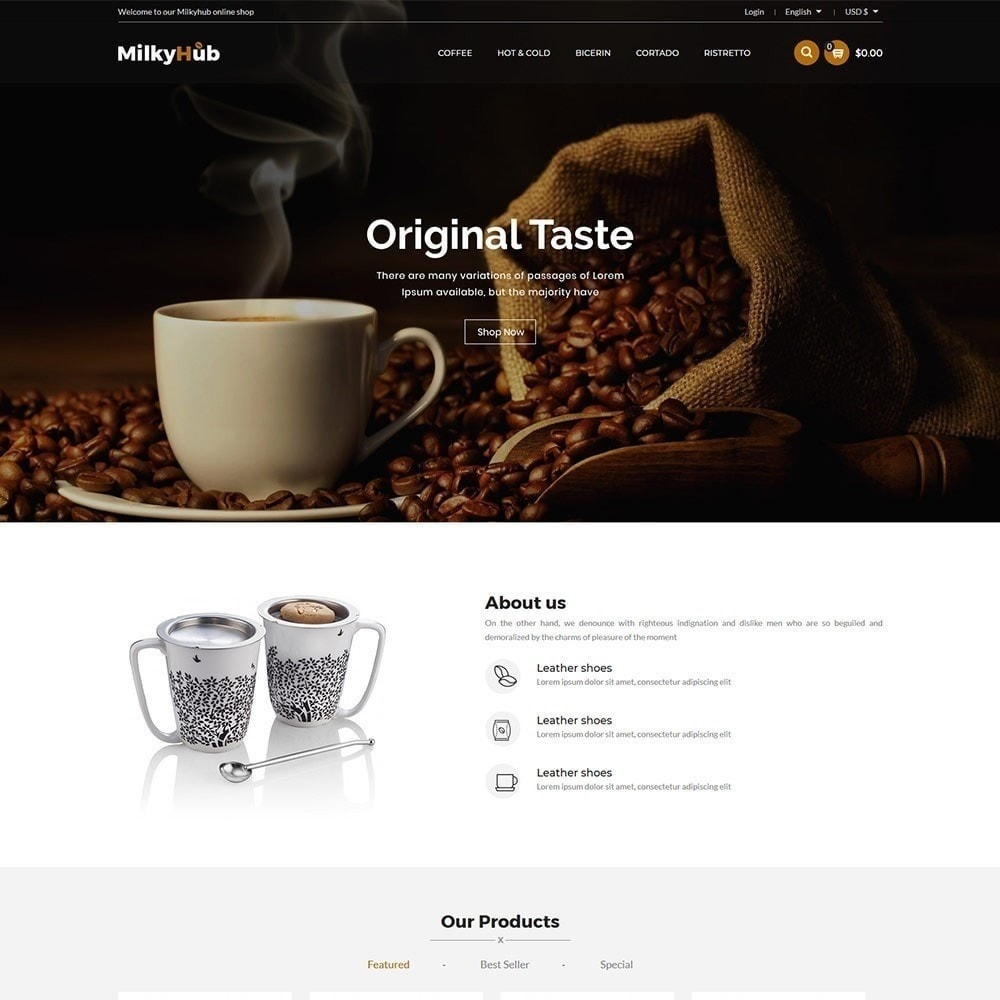 theme - Eten & Restaurant - Milkyhub Drink -Coffee Store - 4