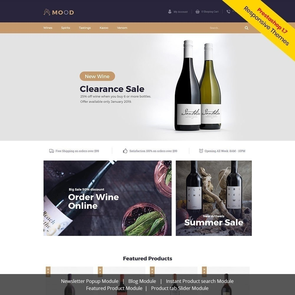 theme - Drink & Wine - Mood Wine - Drink Store - 2