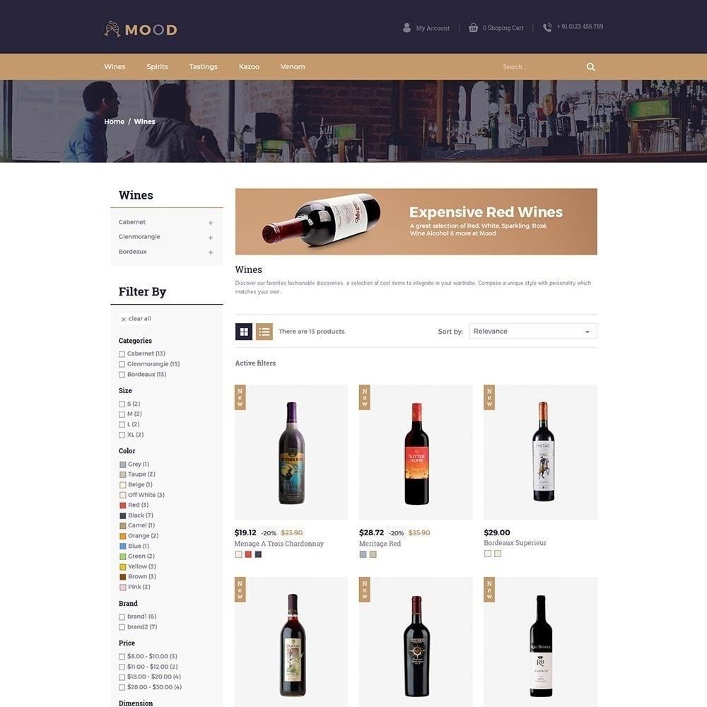 theme - Napoje & Wyroby tytoniowe - Mood Wine - Drink Store - 6