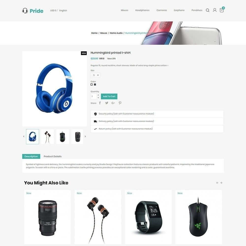 theme - Elettronica & High Tech - Elettronica mobile - Digital Store - 6