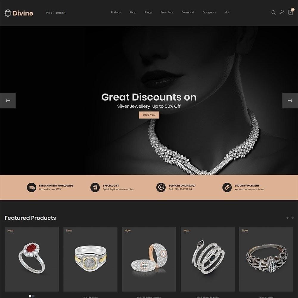 theme - Joyas y Accesorios - Jewellery Diamond Gold Silver - Tienda de lujo - 3
