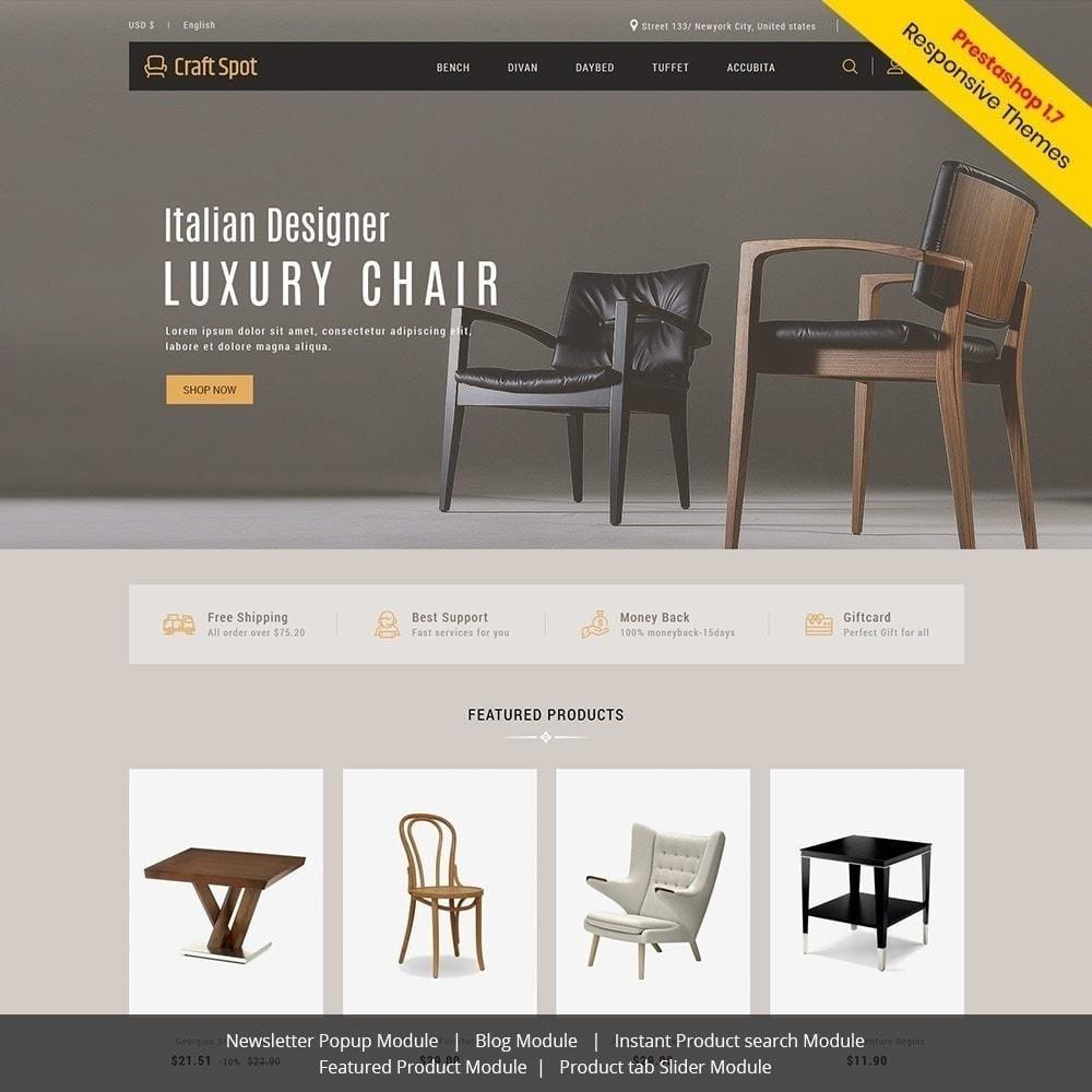 theme - Hogar y Jardín - Muebles artesanales - Tienda de madera - 2