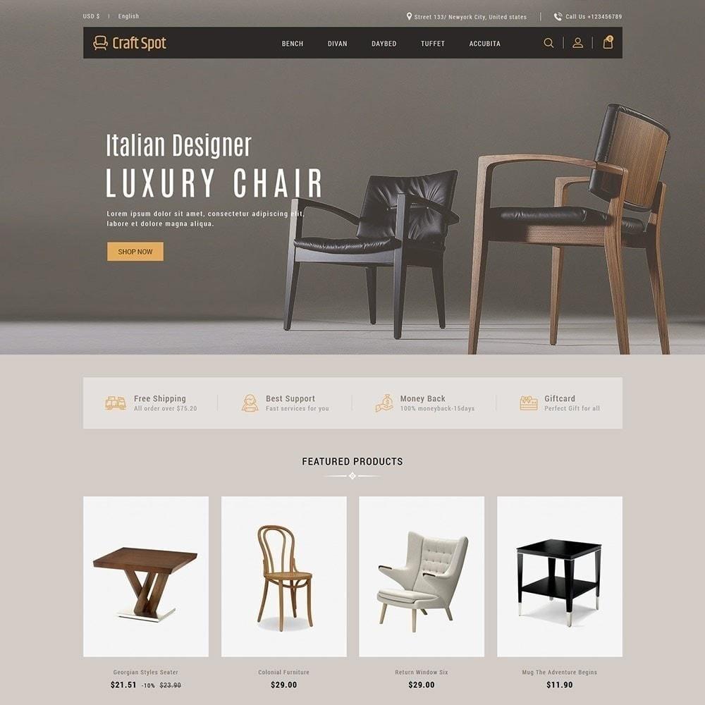 theme - Дом и сад - Craft Furniture - Деревянный Магазин - 3