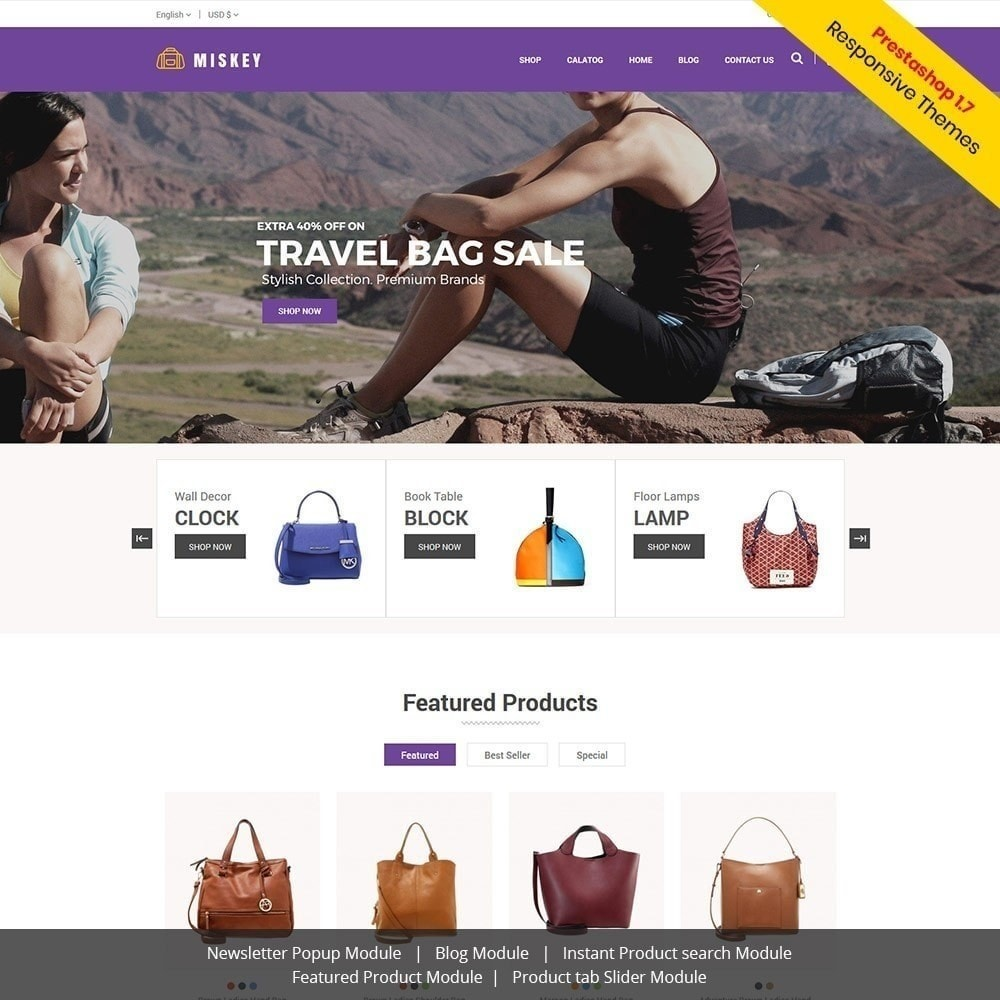 theme - Moda & Calzature - Miskey Bag - Negozio di accessori alla moda - 2