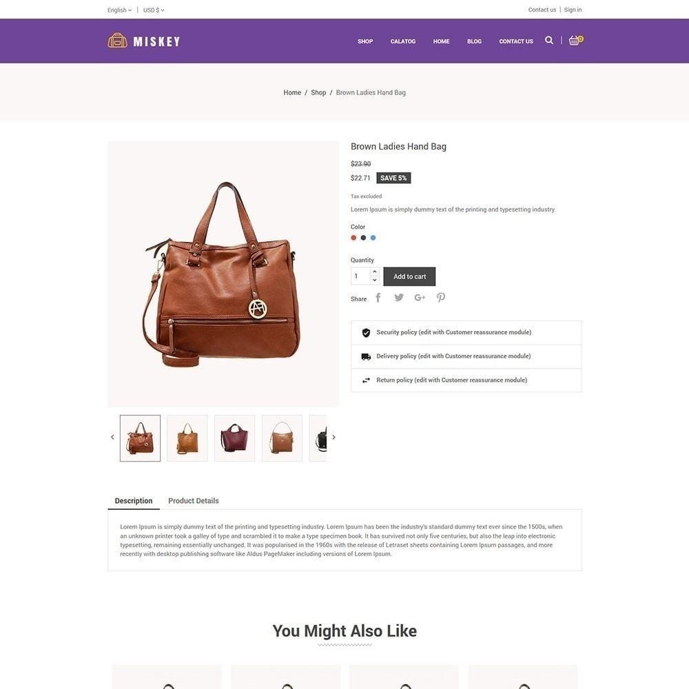 theme - Moda & Calzature - Miskey Bag - Negozio di accessori alla moda - 6