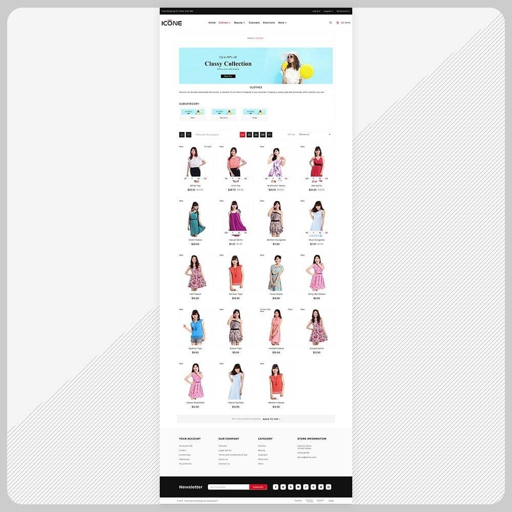 theme - Fashion & Shoes - Moda Icone -  Fashion Big Mall - 3
