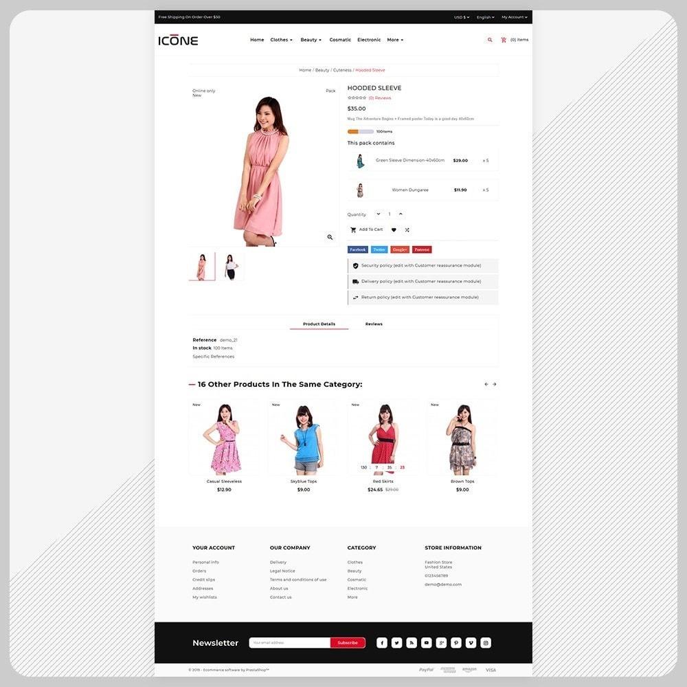 theme - Fashion & Shoes - Moda Icone -  Fashion Big Mall - 4