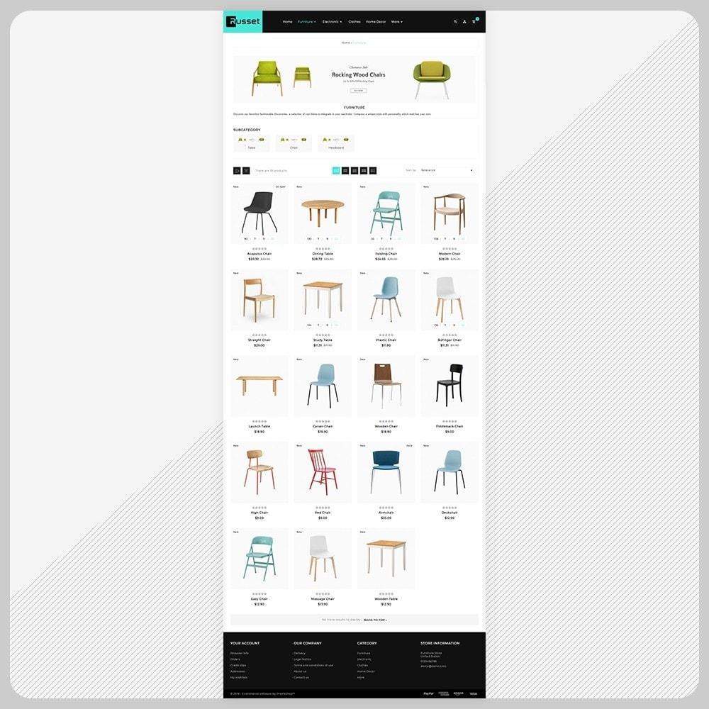theme - Huis & Buitenleven - Möbel Russet  - Furniture Super Mall - 3