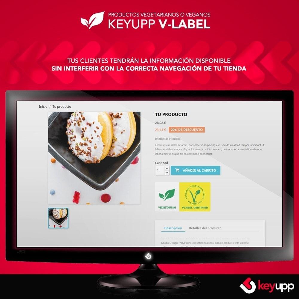 module - Gastronomía y Restaurantes - Información para tus productos veganos (incluye Vlabel) - 1