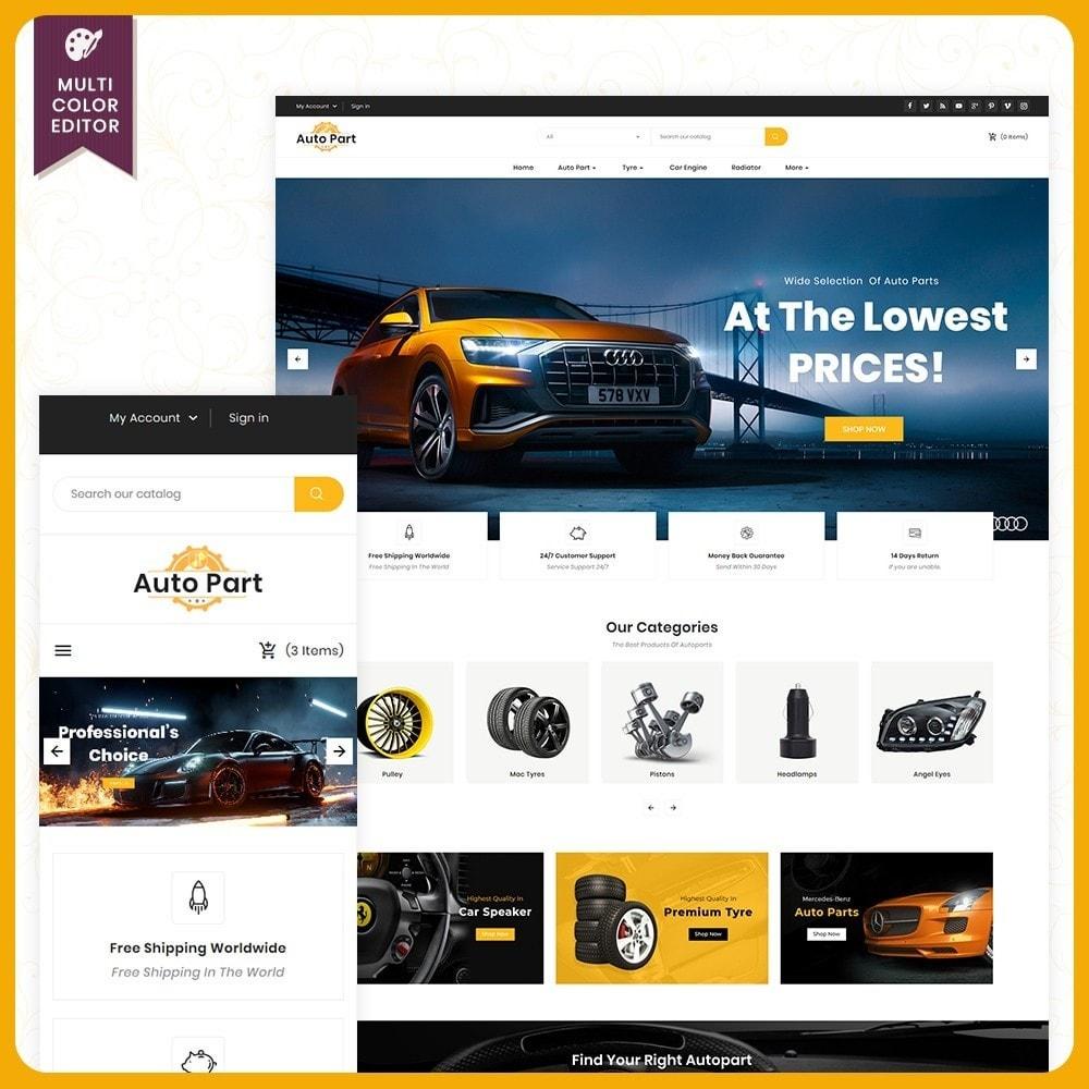 theme - Auto's & Motoren - Auto Part Shop - 1