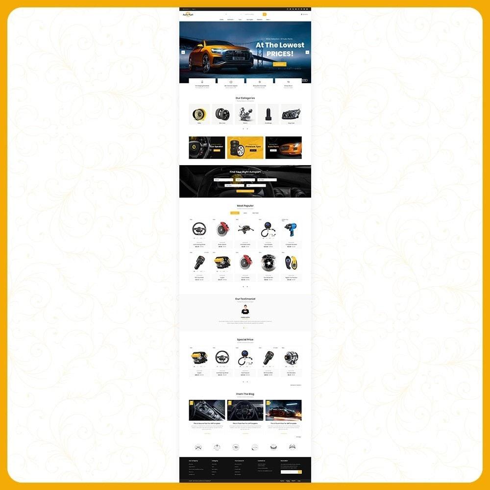 theme - Auto's & Motoren - Auto Part Shop - 2