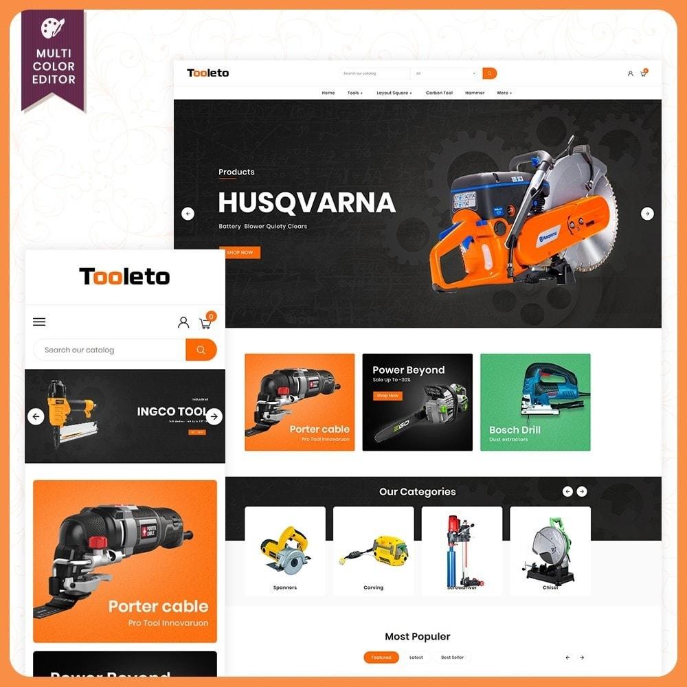 Tooleto Utensili - Tools Big Store Template