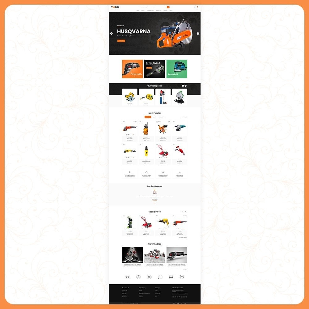 theme - Auto's & Motoren - Tooleto Utensili - Tools Big Store - 2