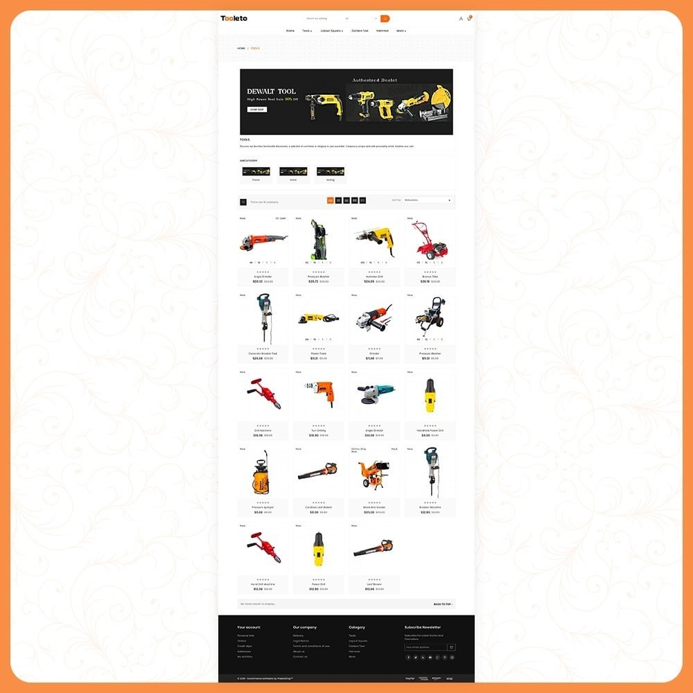 theme - Auto's & Motoren - Tooleto Tools Big Store - 3