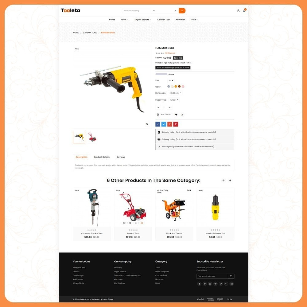 theme - Auto's & Motoren - Tooleto Utensili - Tools Big Store - 4