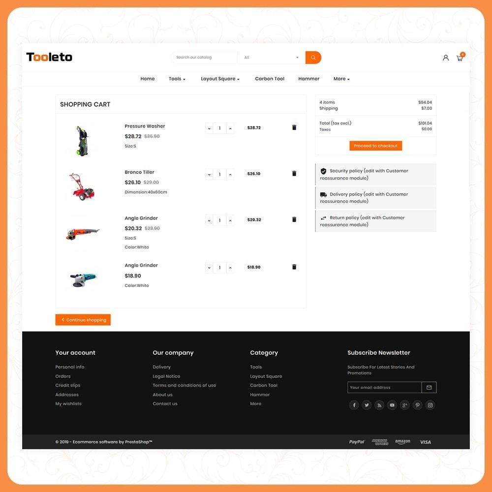 theme - Auto's & Motoren - Tooleto Utensili - Tools Big Store - 5
