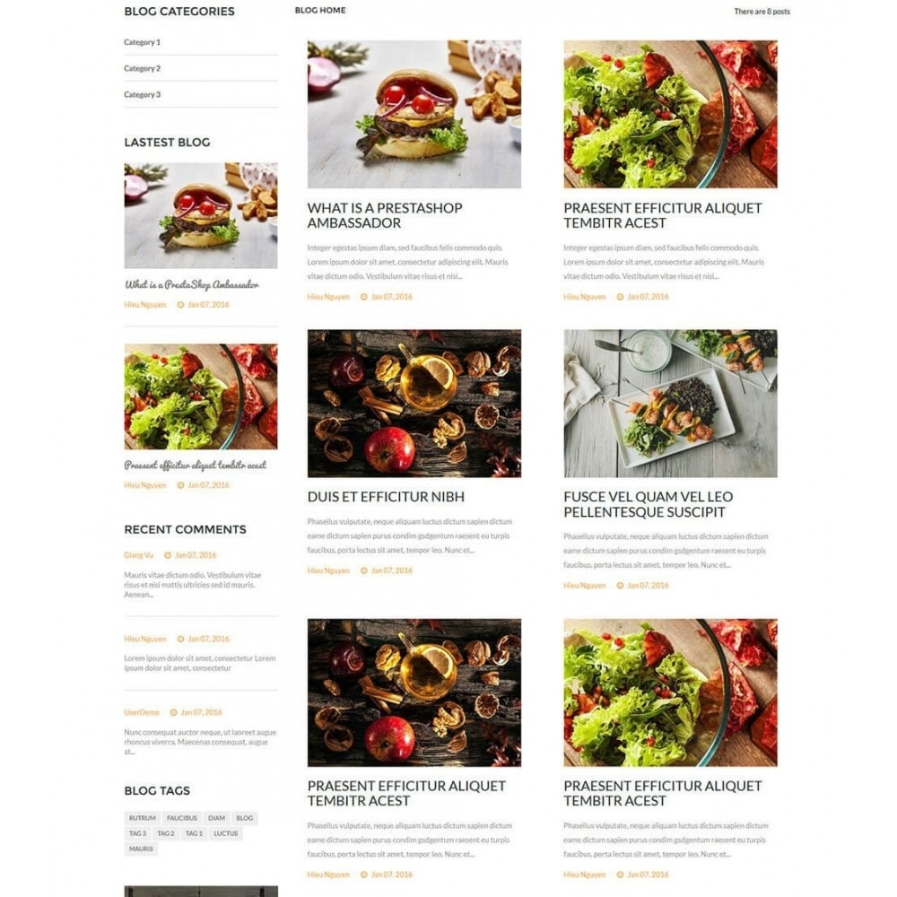 theme - Food & Restaurant - Delicious Food Store - 8