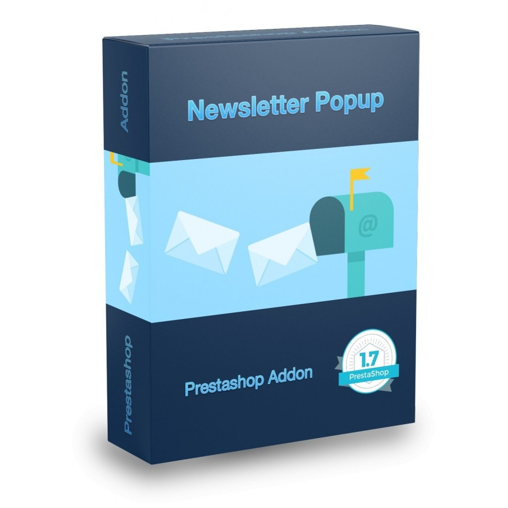 module - Newsletter y SMS - Mailchimp Newsletters Popup - 1