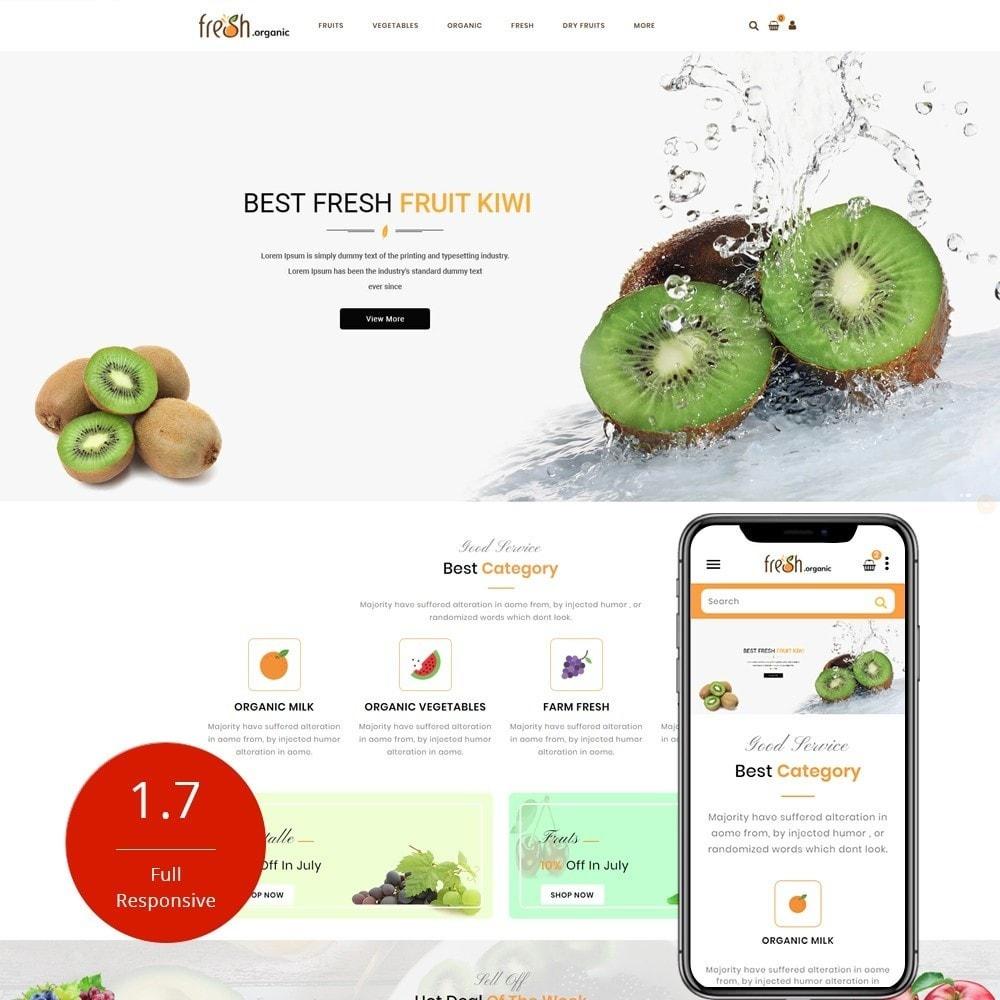 theme - Lebensmittel & Restaurants - Fresh Organic Store - 1