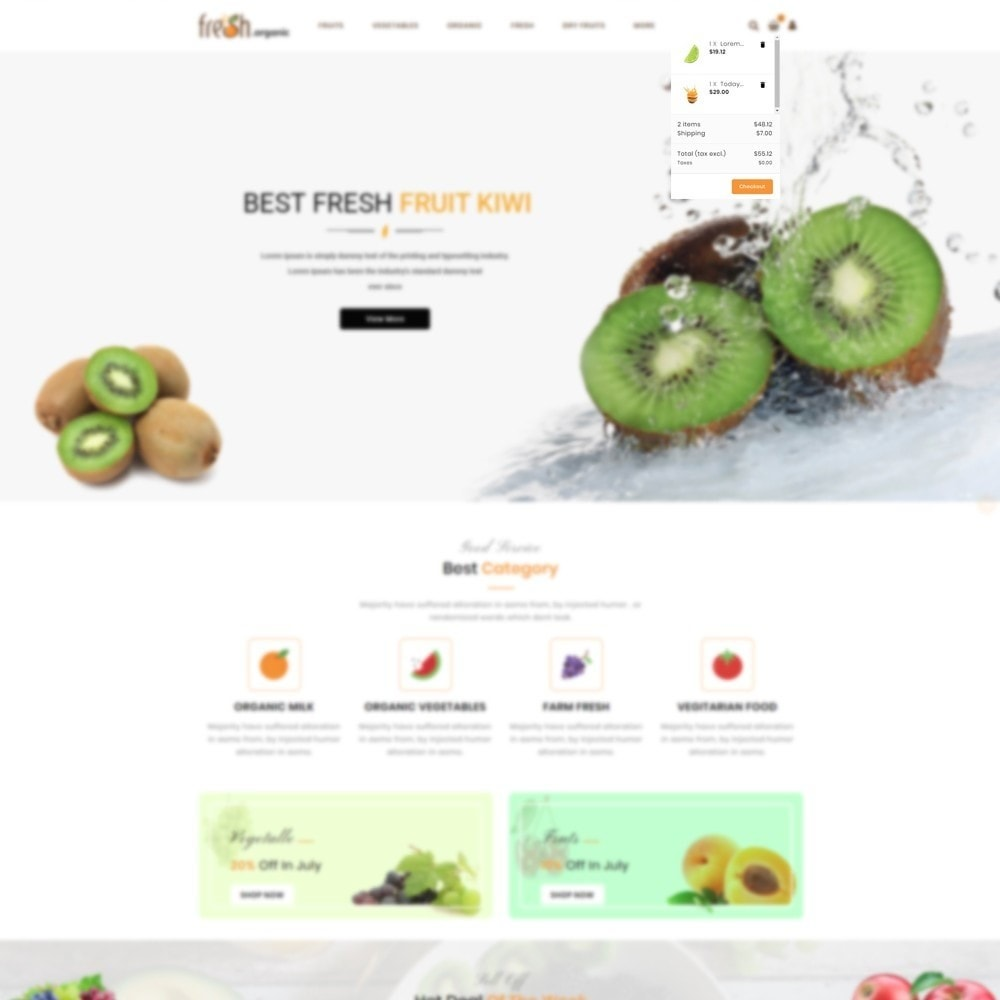 theme - Lebensmittel & Restaurants - Fresh Organic Store - 6
