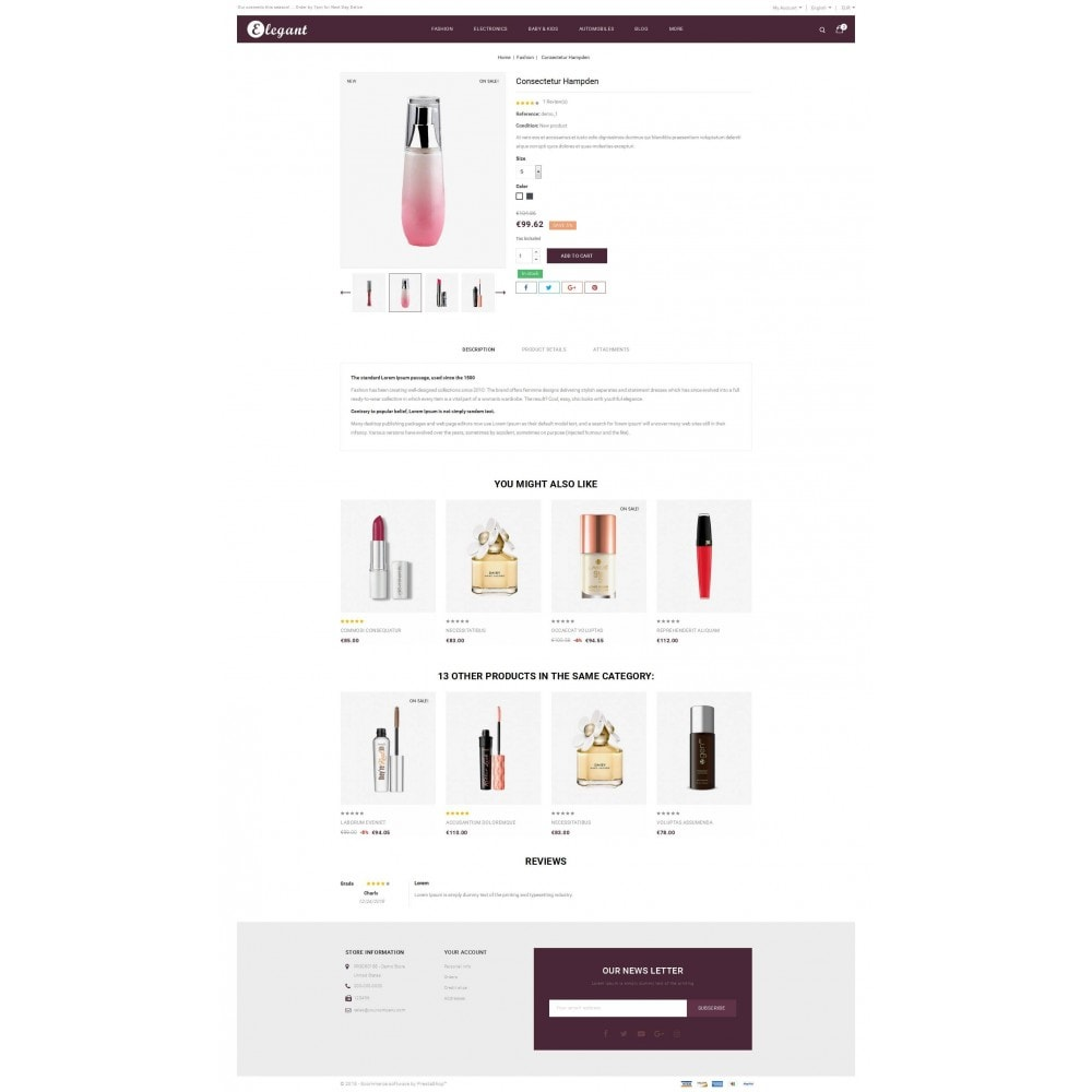theme - Health & Beauty - Elegant - Beauty Store - 5
