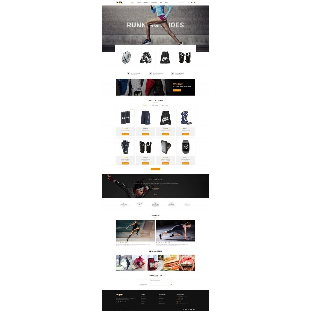 theme - Спорт и Путешествия - Sport Club - Accessories Store - 2