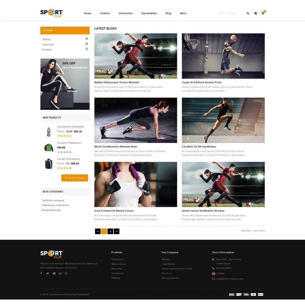 theme - Sport, Aktivitäten & Reise - Sport Club - Accessories Store - 9