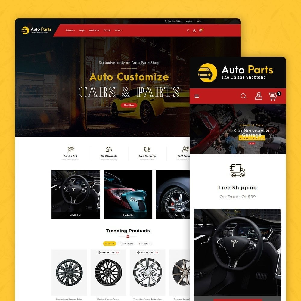 theme - Coches y Motos - Auto Parts - Equipment & Services - 1