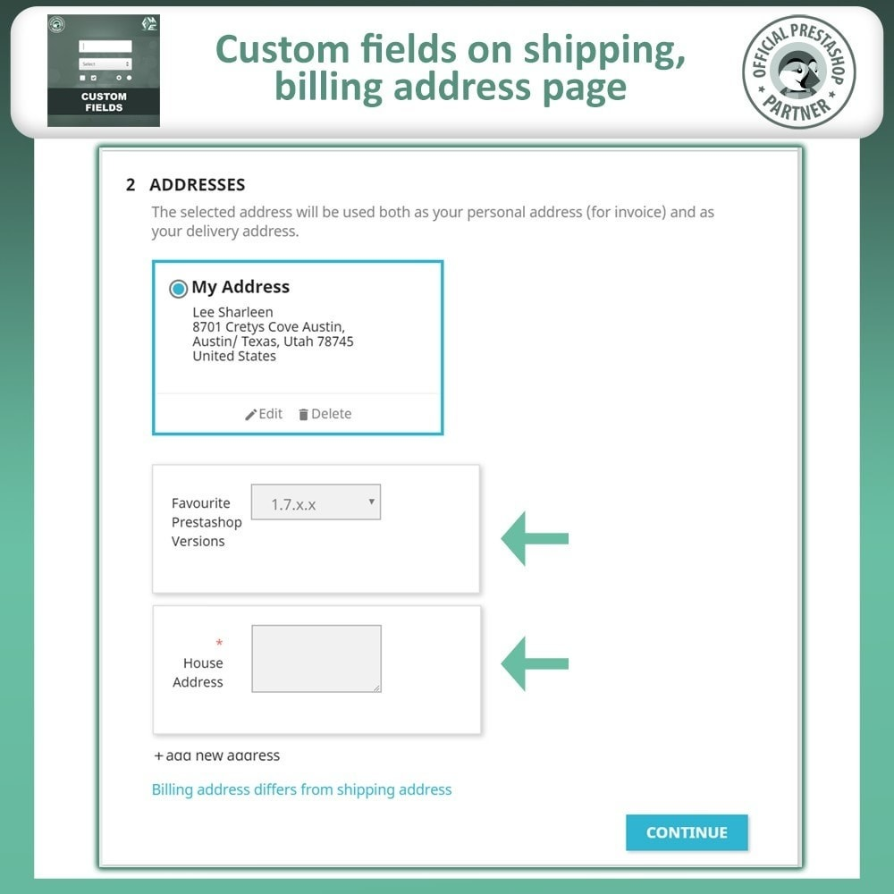 module - Registration & Ordering Process - Custom Fields, Add Extra Fields to Checkout | Order - 5