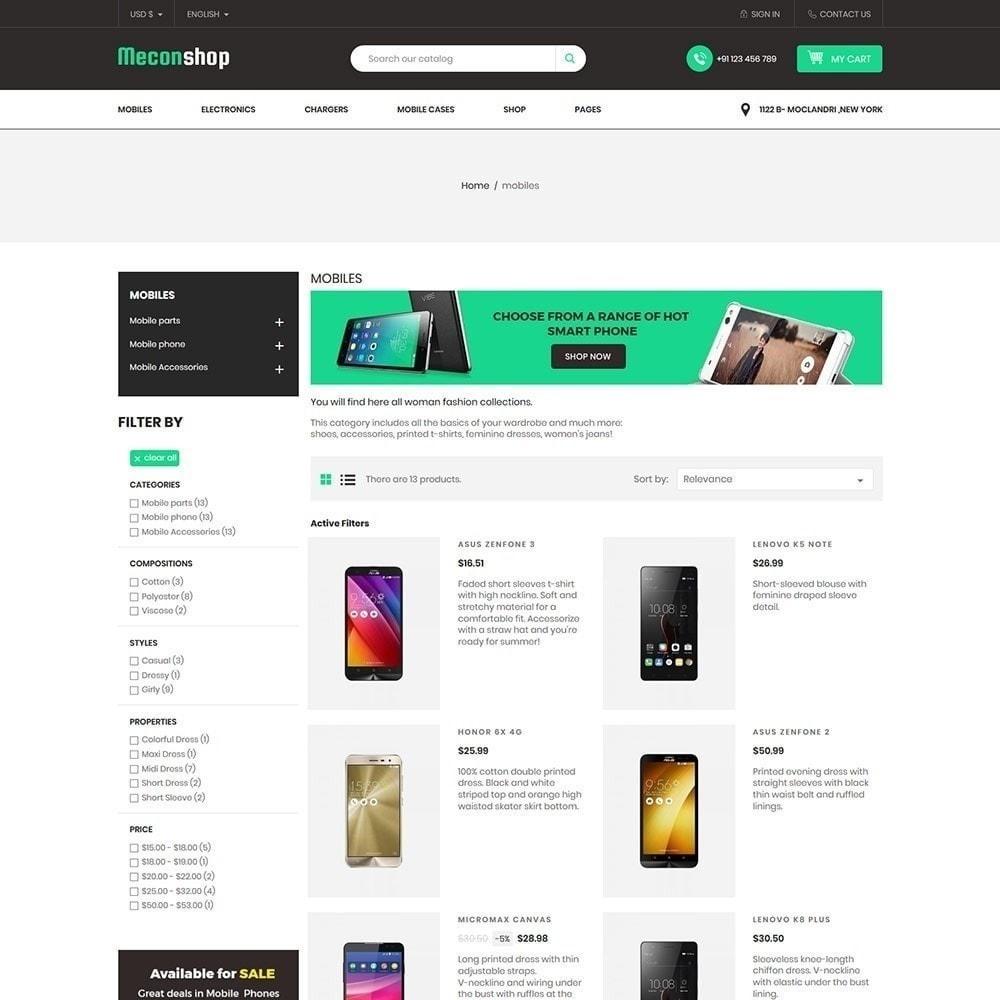 theme - Electrónica e High Tech - Mecon Mobile - Tienda de electrónica - 5