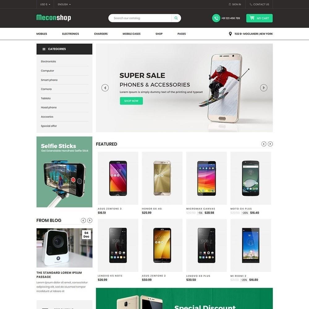 theme - Elektronik & High Tech - Mecon Mobile - Elektrogeschäft - 4