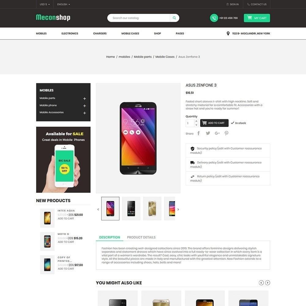 theme - Elektronik & High Tech - Mecon Mobile - Elektrogeschäft - 5
