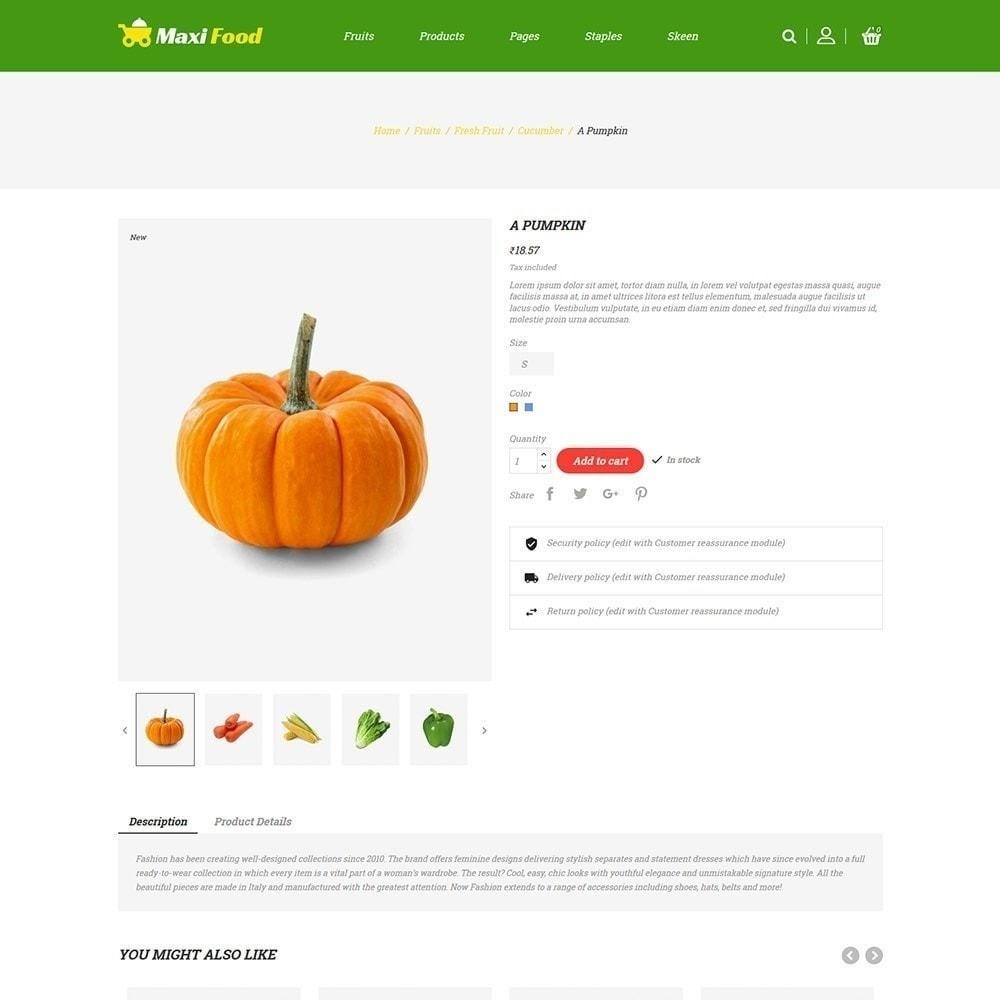theme - Alimentos & Restaurantes - Maxi Food Fruit - Loja de Legumes - 6