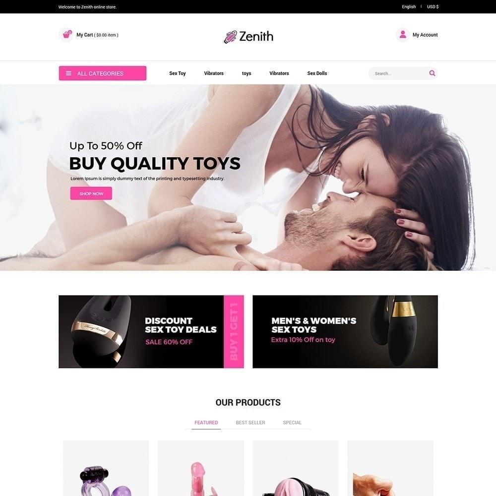 theme - Bielizna & Dorośli - Zenith Lingerie - Adult Sex Store - 2