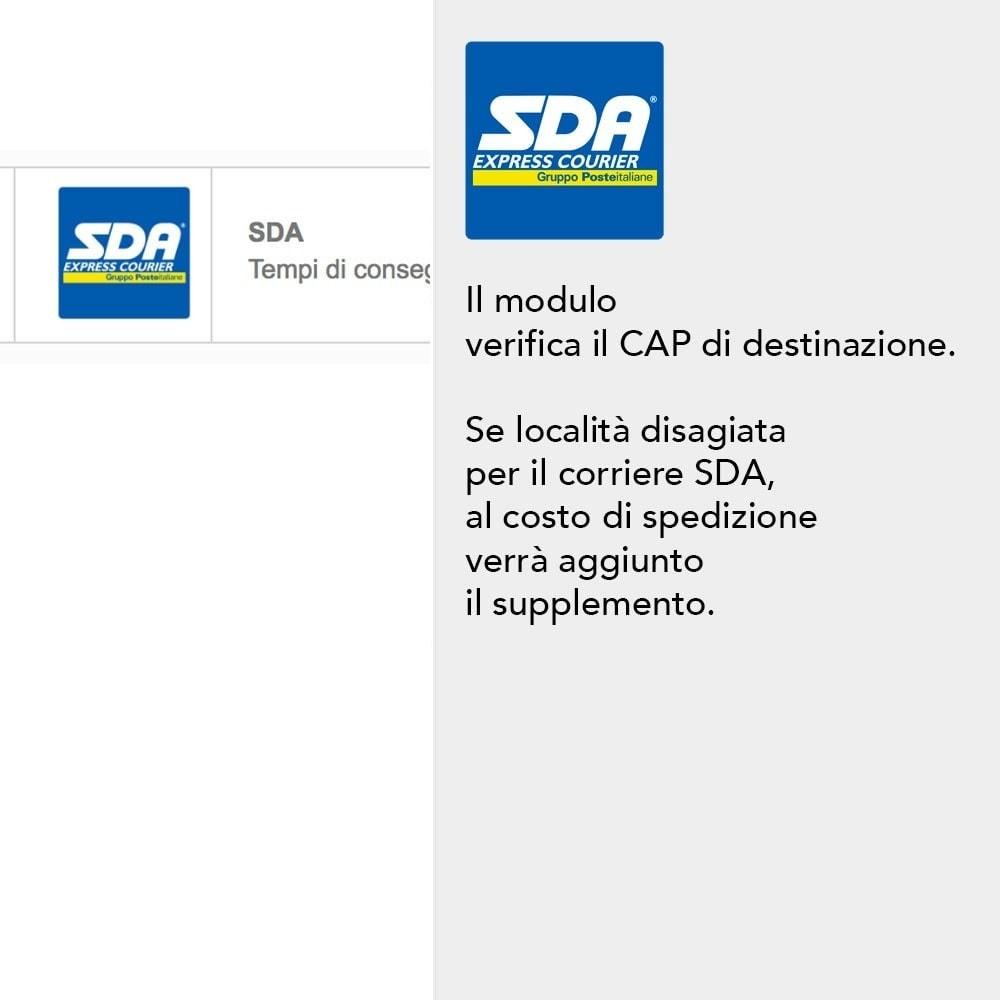 module - Spese di Spedizione - SDA - 3