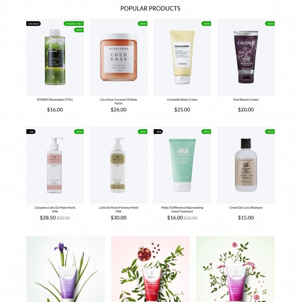 theme - Health & Beauty - Care of nature Cosmetics - 3