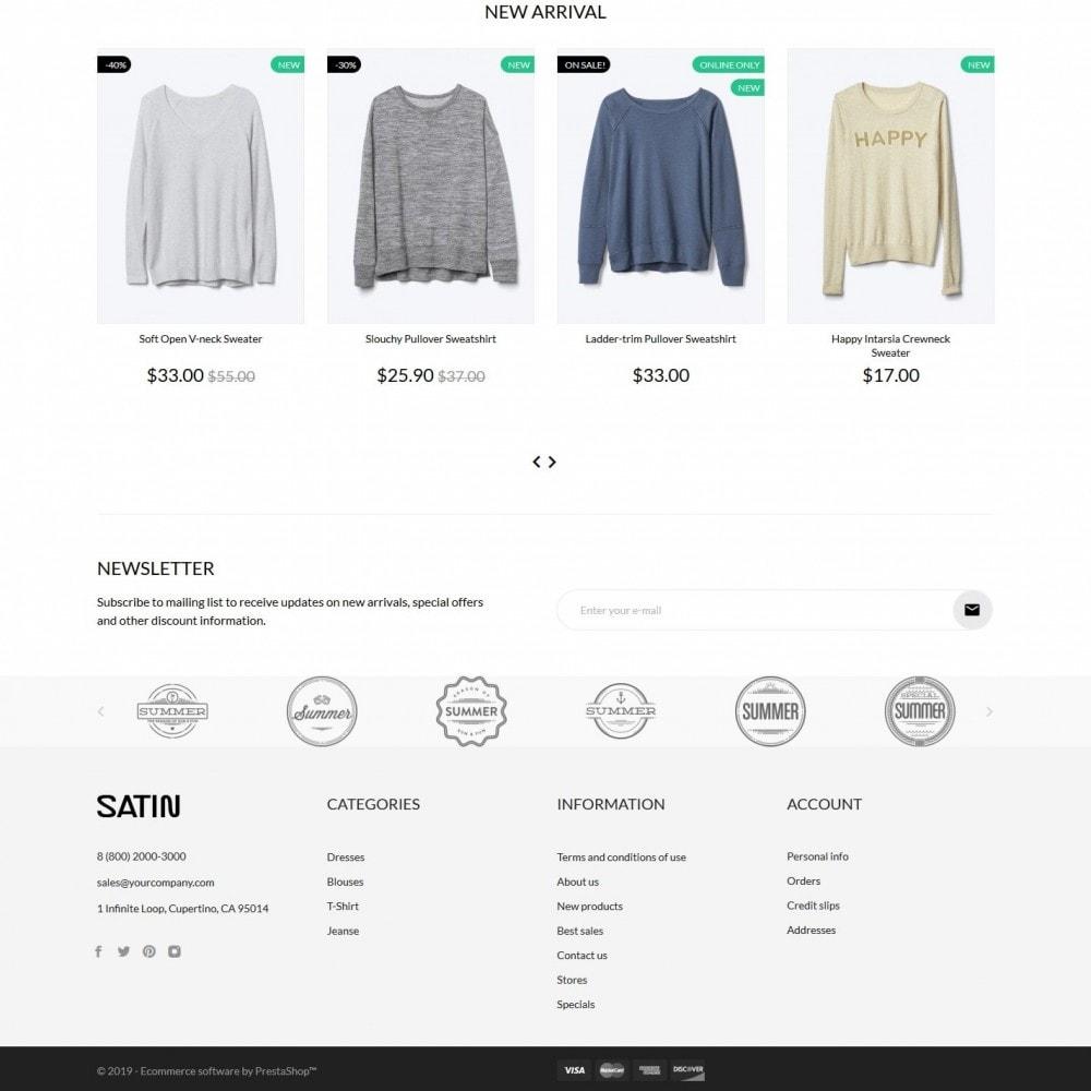 theme - Fashion & Shoes - Satin Fashion Store - 4