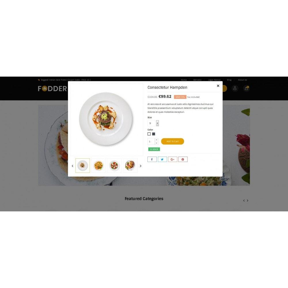 theme - Food & Restaurant - Fodder - Online Restaurant Store - 7