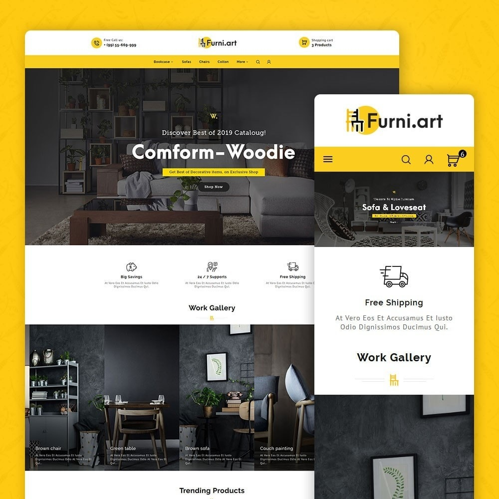 theme - Maison & Jardin - Furni Art & Home Decor - 1