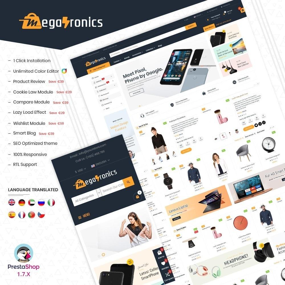theme - Electronique & High Tech - Megatronics Multi Store - 1