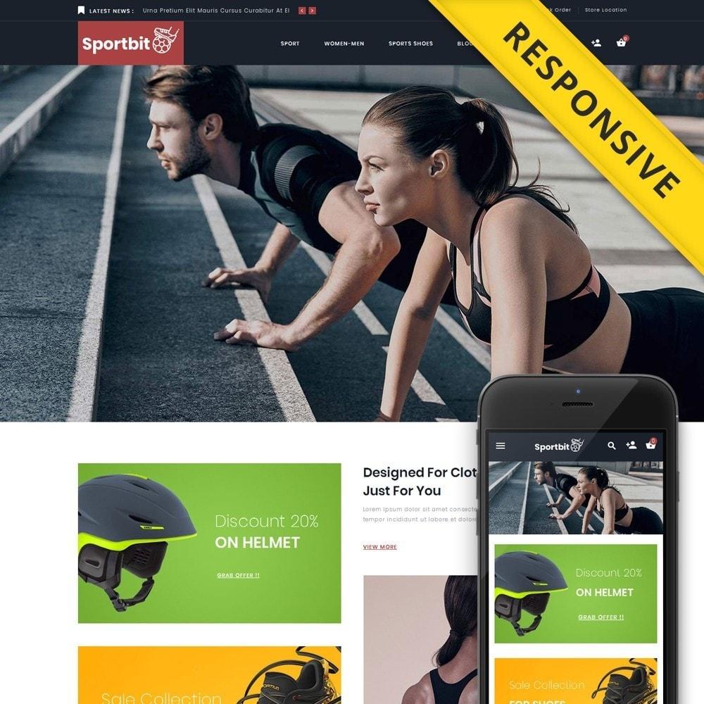 theme - Health & Beauty - Sportbit - Fitness Store - 1
