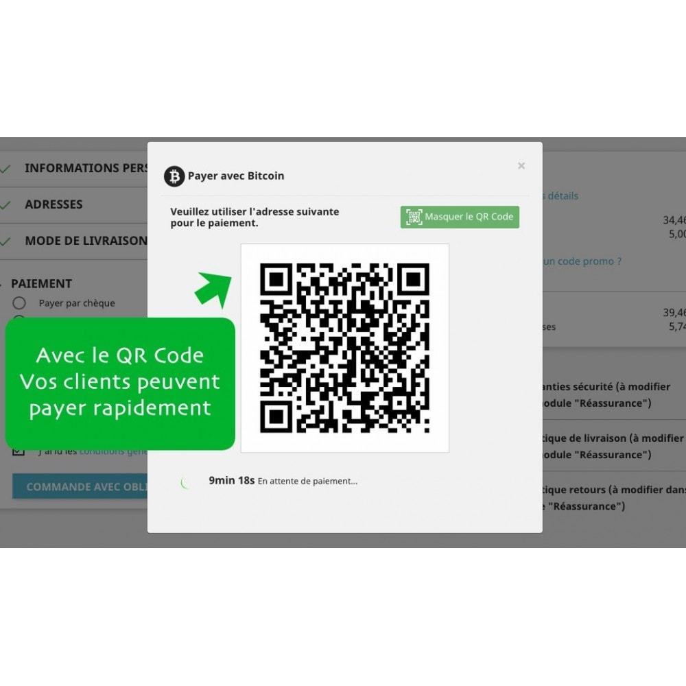 module - Autres moyens de paiement - Bitcoin x Crypto - Accepter les bitcoins et cryptos - 3