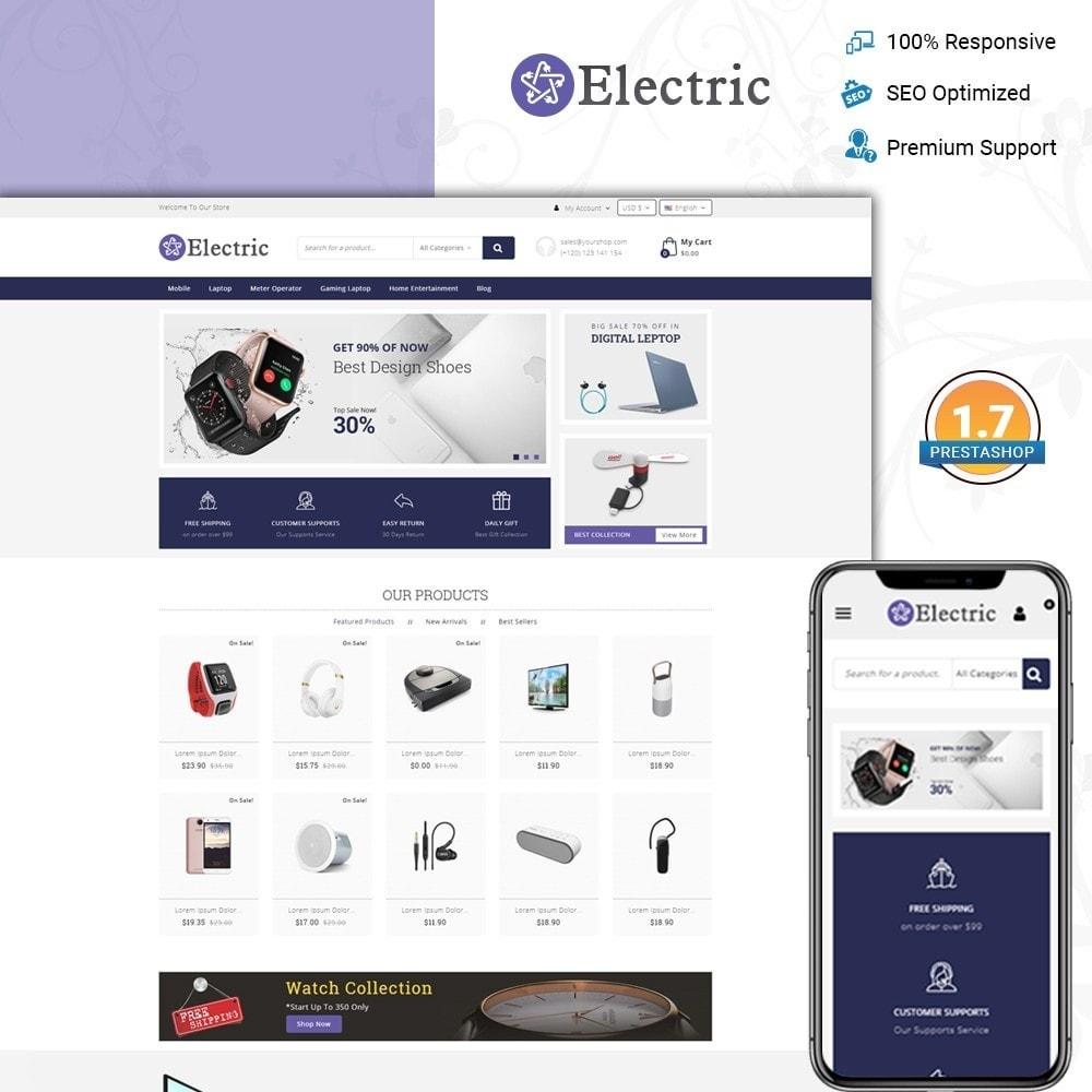 theme - Электроника и компьютеры - Electric - Electronics Store - 1