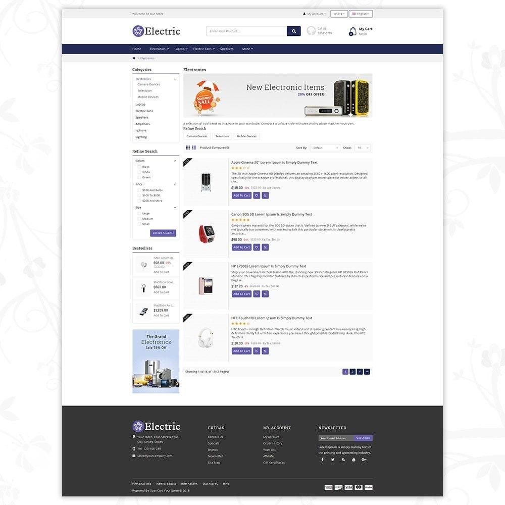 theme - Электроника и компьютеры - Electric - Electronics Store - 4