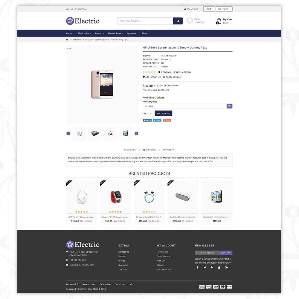 theme - Электроника и компьютеры - Electric - Electronics Store - 5