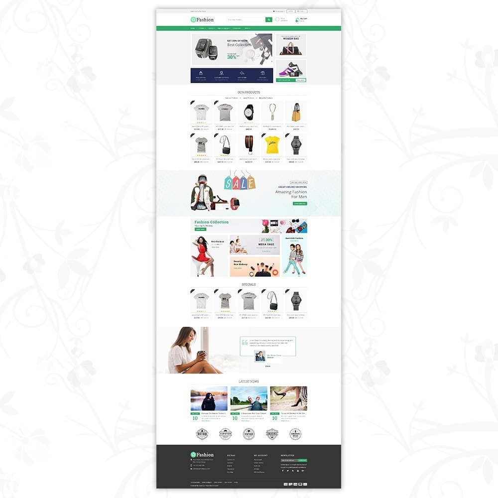 theme - Мода и обувь - Fashion Responsive Store - 2