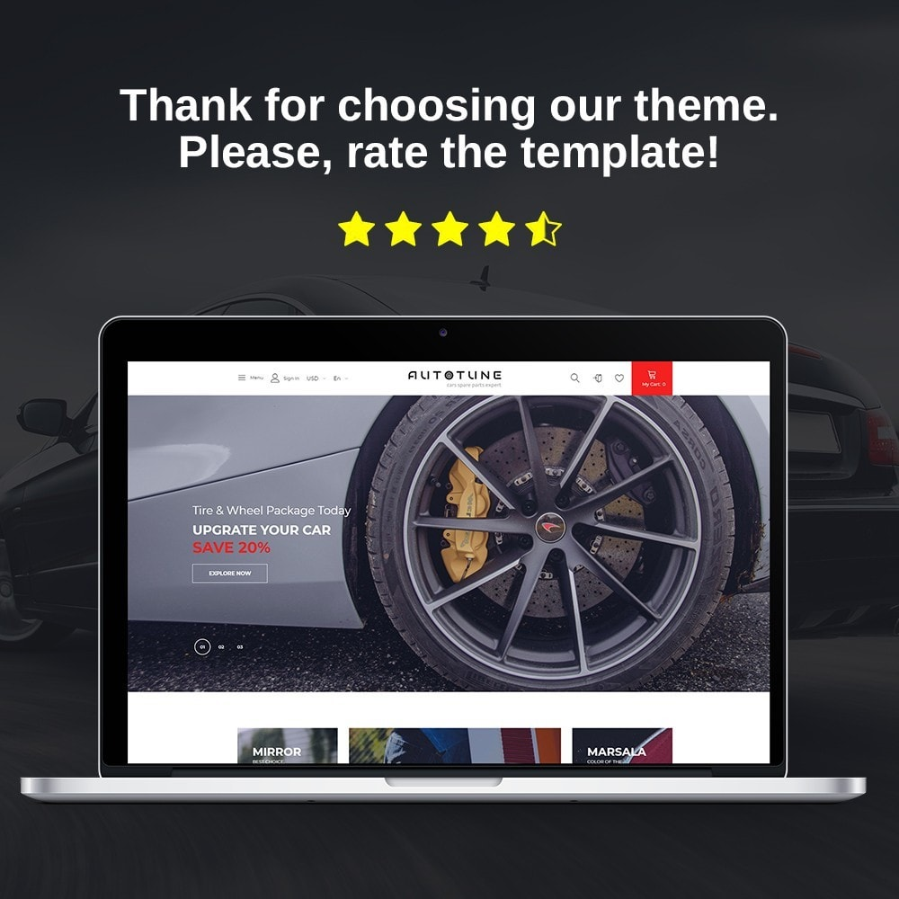 theme - Coches y Motos - Autotune - Spare Parts Store - 1