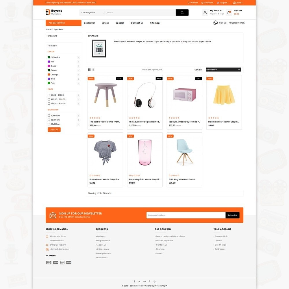 theme - Electronics & Computers - Buyent - The Best MultiStore Theme - 3