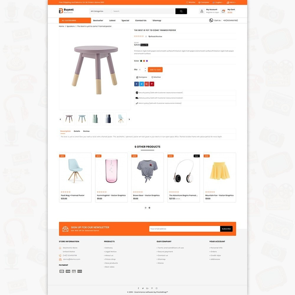 theme - Electronics & Computers - Buyent - The Best MultiStore Theme - 5