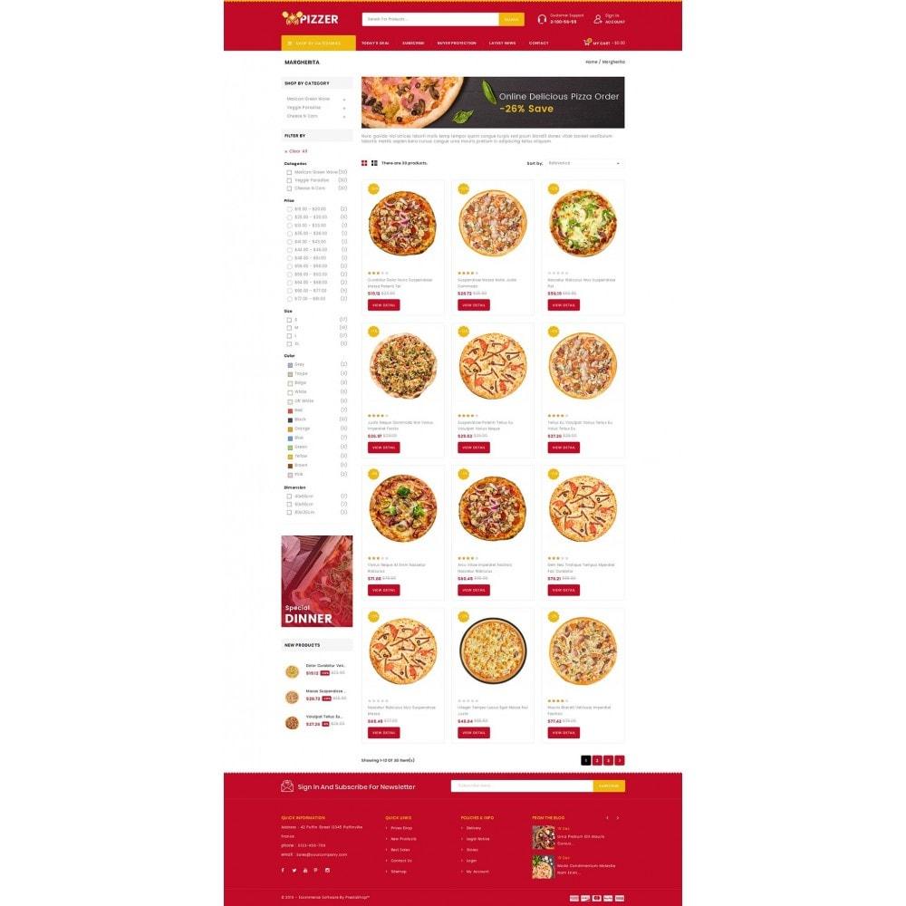 theme - Food & Restaurant - Pizzer - Restaurant Store - 3